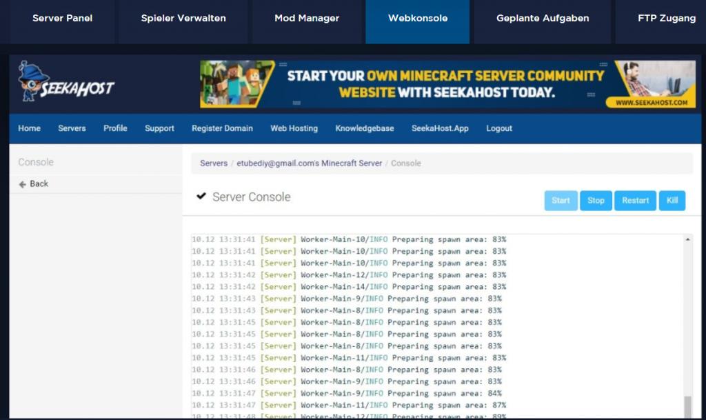 Minecraft-spiele-server-liste-im-control-panel-zum-verwalten
